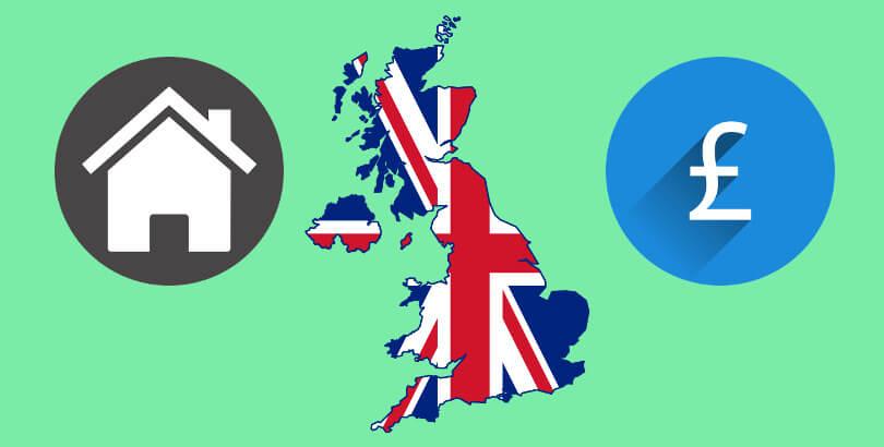 Būsto nuomos kaina Jungtinėje Karalystėje 2017 Gegužė/Birželis