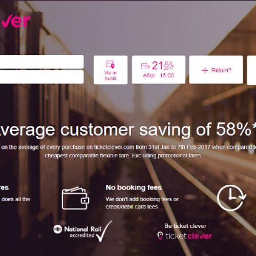 Ticketclever – traukinių bilietai pigiau