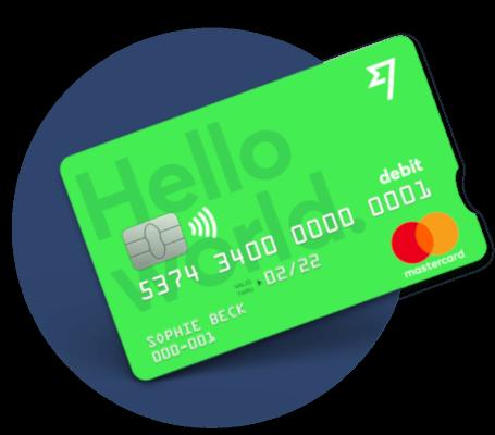 Transferwise Borderless kortelė