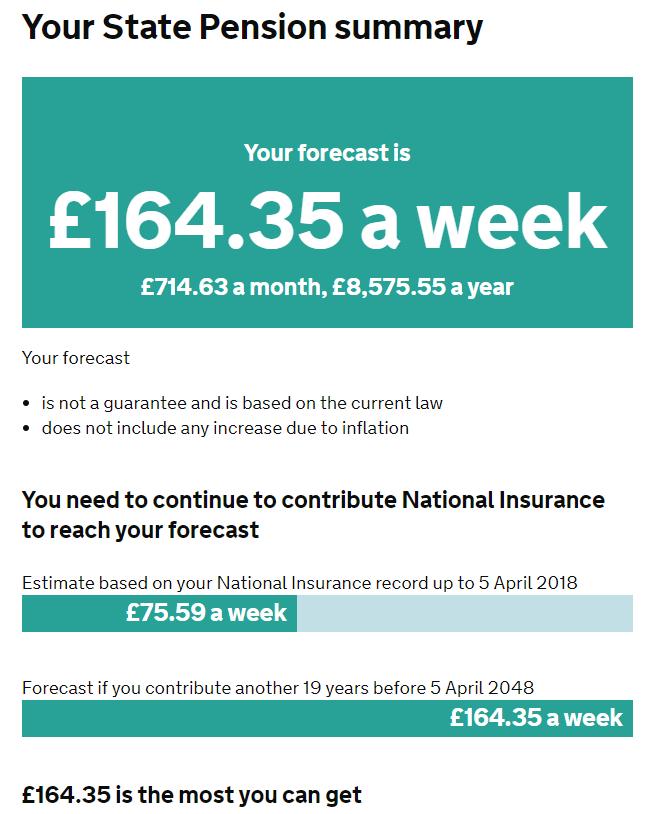Kiek gausite valstybinės pensijos Anglijoje