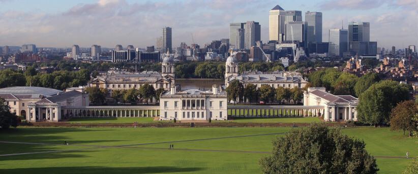 Greenwich parkas Londone