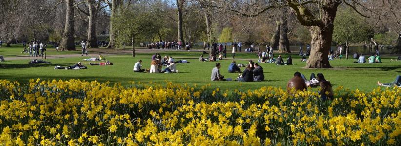 St. James parkas Londone