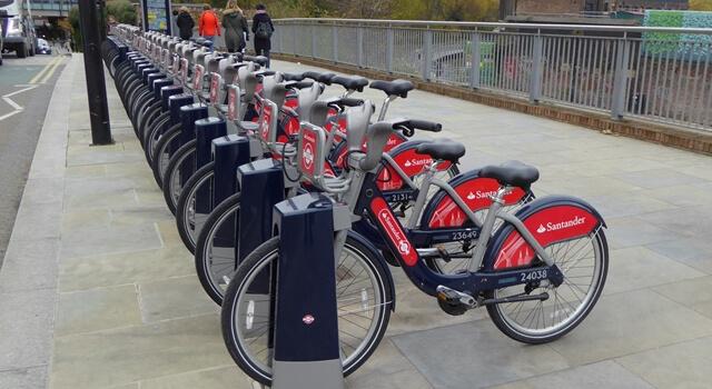 Santander dviračiai