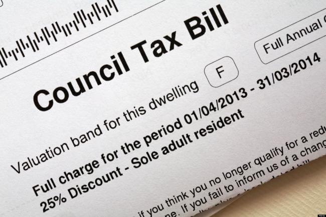 Council tax mokesčiai