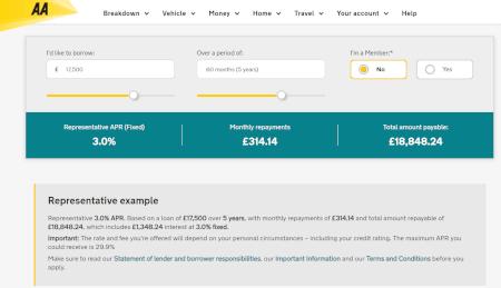 Paskola UK iš AA Loans