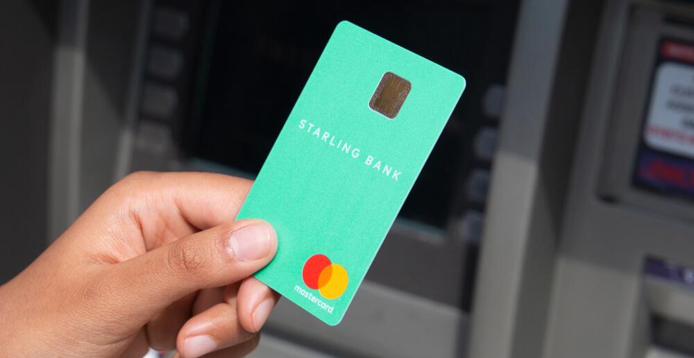 Starling Bank mokėjimo kortelė