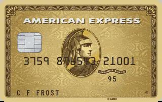 Auksinė American Express kortelė