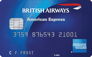 British Airways Amex kreditinė kortelė