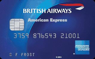 British Airways Amex kreditinė kortelė