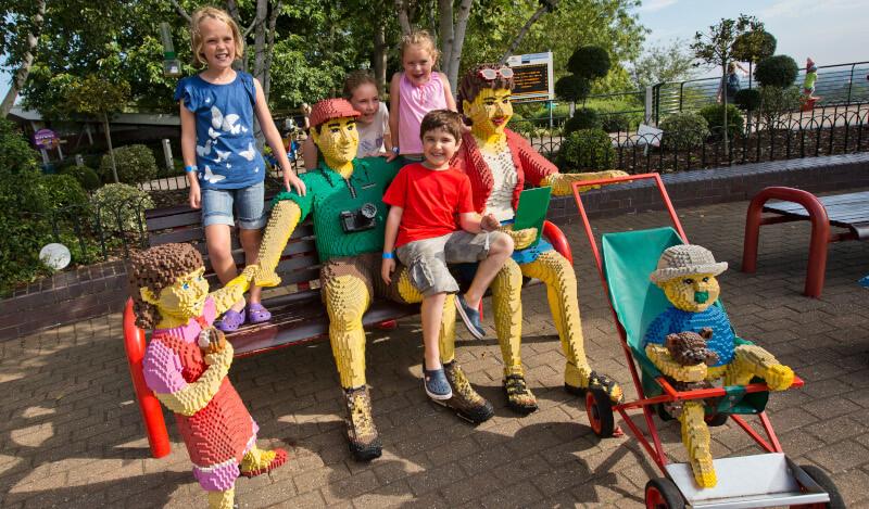 Šeimyninės pramogos Legoland parke